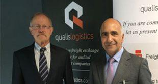 Werner Schneider, Produktmanager von Qualis Logistic und Jaume Esteve, CEO Wtransnet