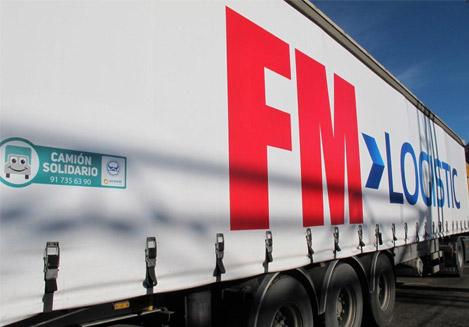 camión solidario fm logistics