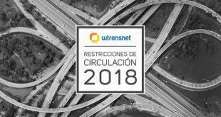 Restricción de circulación de vehículos pesados en Europa 2018
