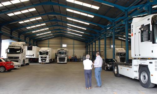 celso flota de camiones