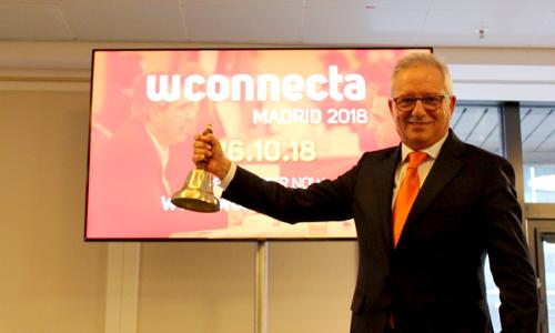 José María Sallés, il presidente della Fondazione Wtransnet, in una foto promozionale dell'evento.