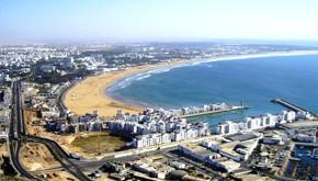 Os fluxos de transporte entre Europa e Marrocos