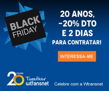 Celebre com a Wtransnet o Black Friday